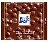 Ritter sport milk chocolate with whole hazelnuts 100g