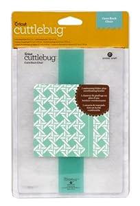 Cricut Cuttlebug Embossing Folder, Cane Back Chair, 5-Inch by 7-Inch