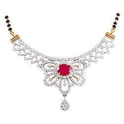 Joyalukkas Bandhan collection 18k Yellow Gold and Diamond Pendant