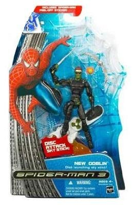 Masked New Goblin Figure with Glider - Marvel Spider-Man 3 Movie Series 1