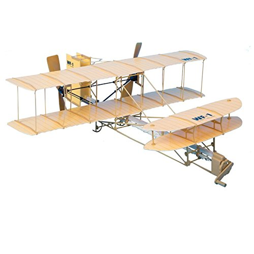 Be Amazing! Toys Sky Blue Flight Giant Wright Flyer Model Kit (Wright Brothers Model Airplane compare prices)