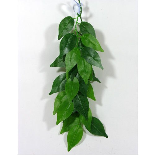 Reptile Vivarium Jungle Silk Plant Decor Ficus Small
