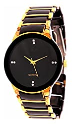 Finz Collection Analog Black Dial Men's Watch