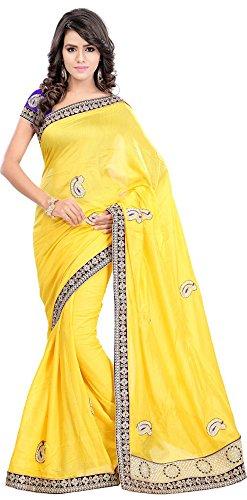 Bano-Tradelink-Womens-Jute-Saree7012-Yellow