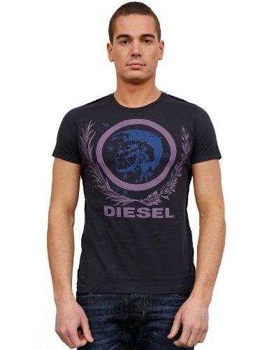 Diesel Mutter 58j Flare Blue Man T-shirts Make Men - Xxl