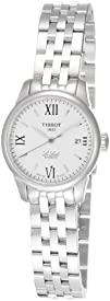 Tissot Womens T41118333 Le Locle Silver Dial Automatic Stainless