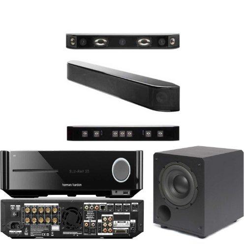 Atlantic Technology Fs-7.1 Sound Bar-Sb-900-Blk Sub-Harman Bds570 5.1 Av And Blu Ray