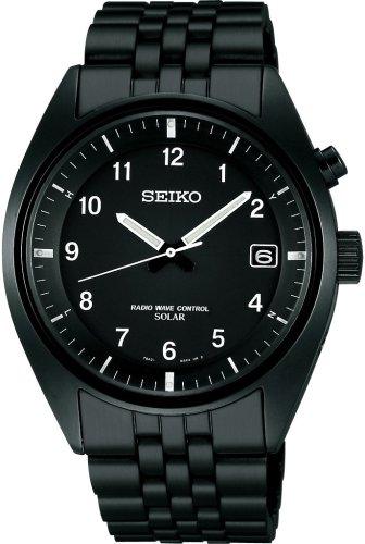 SEIKO (セイコー) 腕時計 SPIRIT スピリット パワーデザインプロジェクト ソーラー電波時計 SBPM001 メンズ