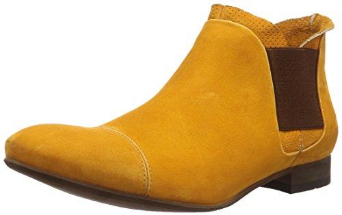 DKode Elroy, Stivaletti a gamba corta mod. Chelsea, imbottitura leggera uomo, Giallo (Gelb (Yellow 012)), 45