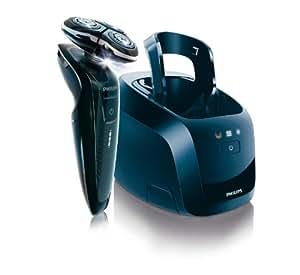 Philips RQ1250/22 SensoTouch 3D Nass- und Trockenrasierer mit Präzisionstrimmer und Jet Clean System