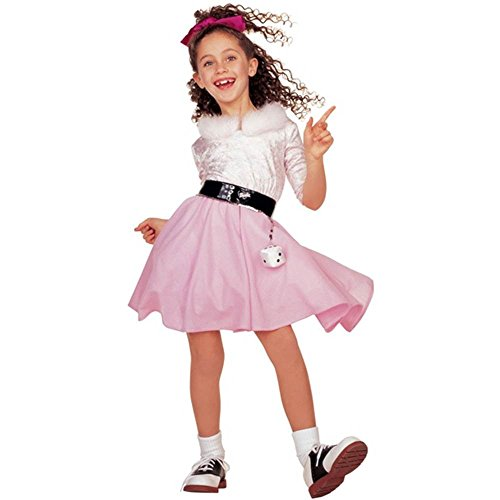 Child 50s Girl Barbie Poodle Costume