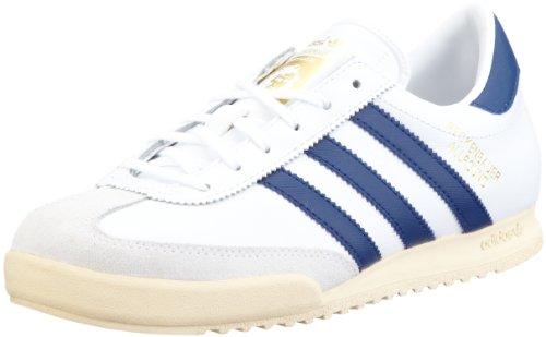 Adidas Beckenbauer Schuhe white-realblue-metallic gold - 44 2/3