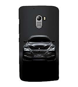 Luxury Black Car 3D Hard Polycarbonate Designer Back Case Cover for Lenovo Vibe K4 Note :: Lenovo K4 Note A7010a48 :: Lenovo Vibe K4 Note A7010 :: Lenovo Vibe X3 Lite