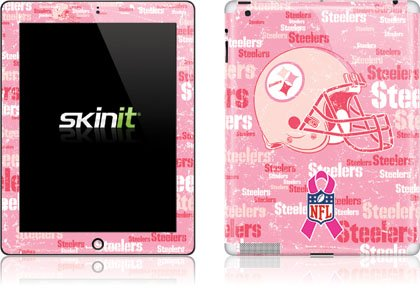 Skinit Pittsburgh Steelers - Breast Cancer Awareness Vinyl Skin for Apple New iPad