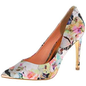 Ted Baker Women's Luceey Dress Pump,Orange multi,9.5 M US