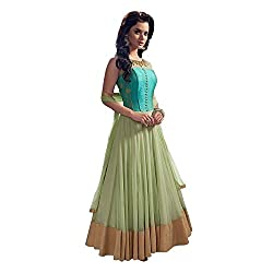 Universal Creation fancy pink semi-stitched lehenga choli material and 100% pure quality`