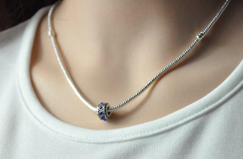 Humasol September Sapphire Birthstone Necklace