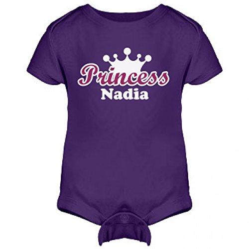Princess Nadia Onesie: Infant Rabbit Skins Lap Shoulder Creeper