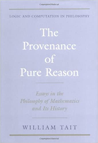 The Provenance of Pure Reason: Essays in the Philosophy of