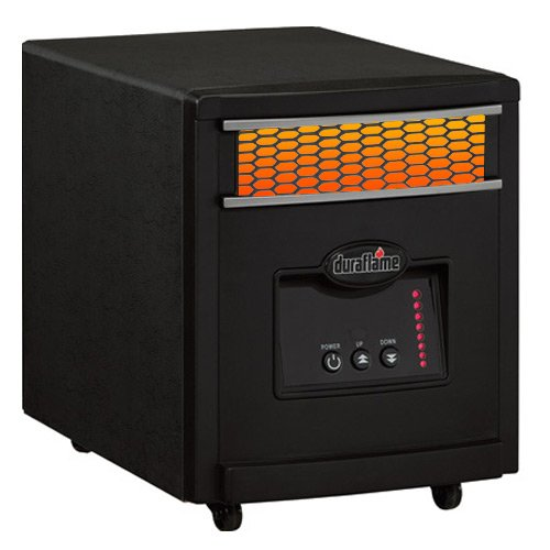 Best deals duraflame 600 sq ft portable infrared heater in black finish 7hm1000 - Best small space heaters reviews concept ...