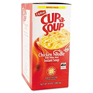 Amazon.com : Cup-a-Soup, Chicken Noodle, Single Serving ...
