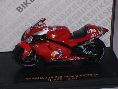 Yamaha Yzr 500 Abe Team D´antin 2002 1/24 ixo Modellmotorrad Modell Motorrad