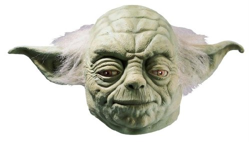 Costumes For All Occasions Ru4192 Yoda Dlx Adult Mask