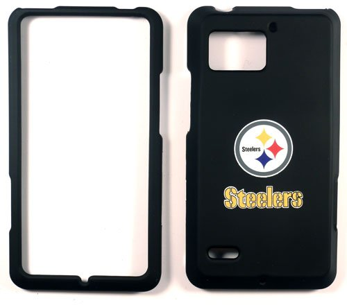 Pittsburgh Steelers Motorola Droid Bionic XT 875 Faceplate Case Cover Snap On from SteelerMania