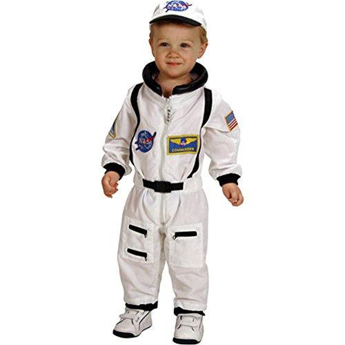 Jr. Astronaut Suit White Toddler Costume - 18 Months