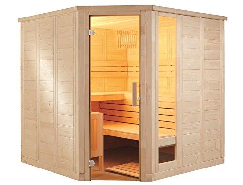 massivholzsauna-corner-206-x-206-x-204-glass-with-sauna-heater-combi-sauna