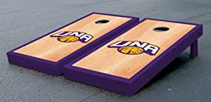 University of North Alabama UNA Lions Cornhole Game Set Hardcourt Wooden by Gameday Cornhole