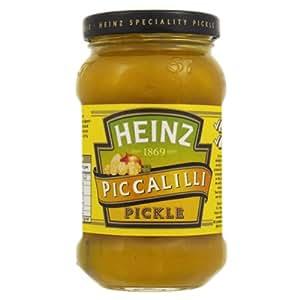 Amazon.com : Heinz Piccalilli Pickle 8 x 275g : Heinz Picallili
