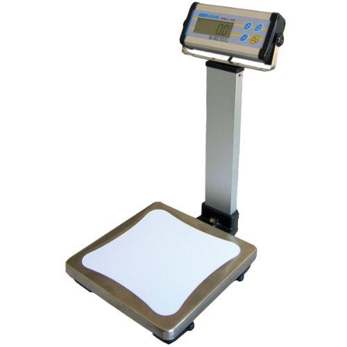 Adam Equipment CPWplus 150P Pillar Display Bench Scale With 330lb/150kg Capacity And 0.1lb/50g Readability