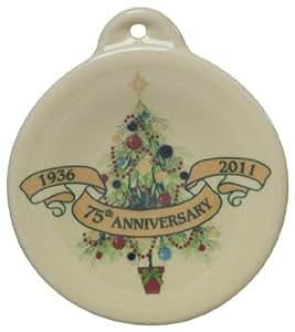 Fiesta 75th Anniversary Holiday Ornament, Christmas Tree
