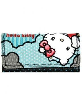 Loungefly Hello Kitty Supercute Wallet (MULTI COLORED)