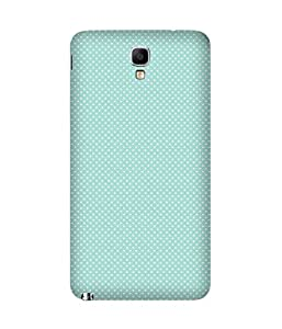 White Polka Dots Back Cover Case for Samsung Galaxy Note 3 Neo
