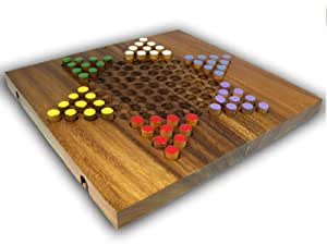 Large Chinese Checkers (colors may vary)