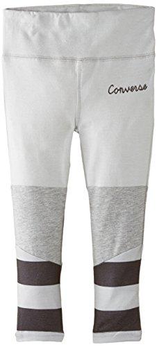 Converse - Super Skinny, Leggings per bambine e ragazze, grigio (grau), 11