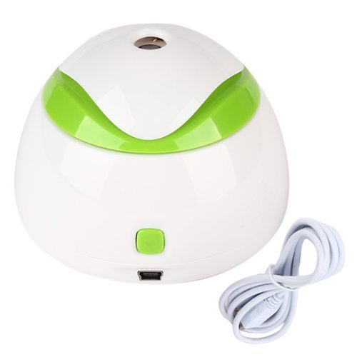 iiMash Durable Office Home Bedroom Mini USB Humidifier White Plastic - 1