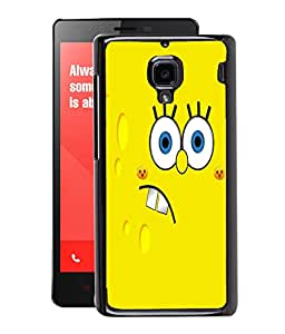 Fuson 2D Printed Cartoon Designer Back Case Cover for Xiaomi Redmi1S - D1084
