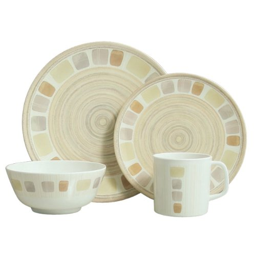 Pebbles 16 Piece Melamine Tableware Set