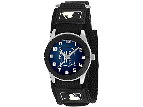 Detroit Tigers Game Time Pro Rookie Kids Watch Black