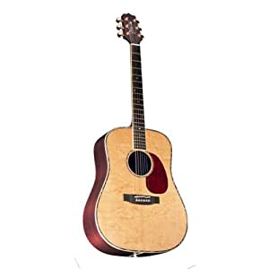 Takamine Pro Series NV360S Dreadnought Acoustic Guitar, Natural with Case