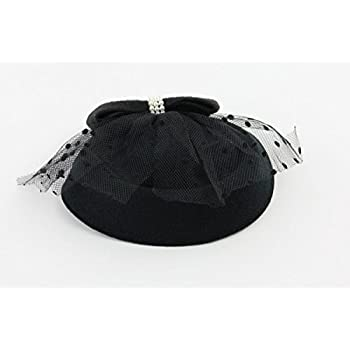 The Kate Pillbox Fascinator Hat with Hair Clip for Women