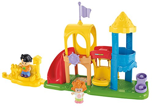 Fisher Price Little People Neighborhood Playground Playset