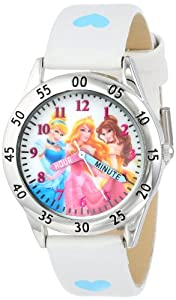 Disney Kids' PN1172 Watch with White Band