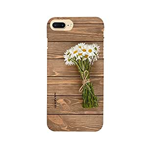 iSweven IP7p_1015 Printed high Quality wood_and_flowers Design Back case cover for Apple iPhone 7 Plus
