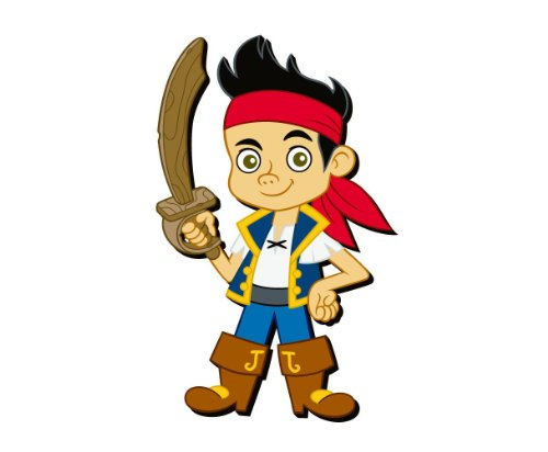 Disney Jake The Pirate Soft Touch PVC Magnet