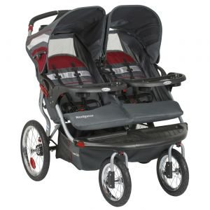 baby trend navigator double jogging stroller baby shop. Black Bedroom Furniture Sets. Home Design Ideas