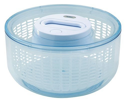 Zyliss Zyliss Easy Spin Salad Spinner 4-6 Servings, White